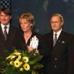 Jutta Kleinschmidt als ADAC Sportlerin des Jahres 2001