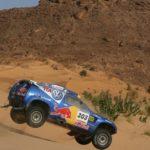 Jutta Kleinschmidt im VW Race Touareg bei der Dakar Rallye 2006