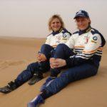 Tina Thörner und Jutta Kleinschmidt bei der UAE Desert Challenge 2006