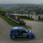 Jutta Kleinschmidt bei der Rallye Deutschland 2003