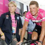 Jutta Kleinschmidt bei der Tour de France